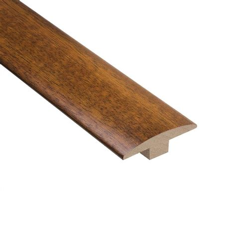 home legend brazilian chestnut 3 8 in thick x 2 in wide x 78 in length hardwood t molding