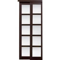 glass closet doors home depot truporte grand 72 in x 80 in 2240 series composite