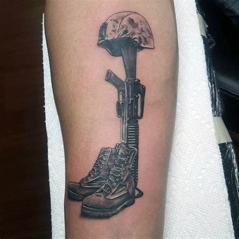 fallen soldier tattoo design 50 fallen soldier designs for memorial ideas