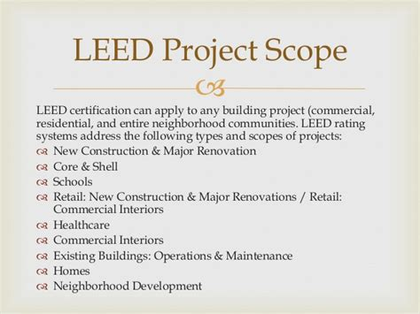 what is a leed certification leed certification