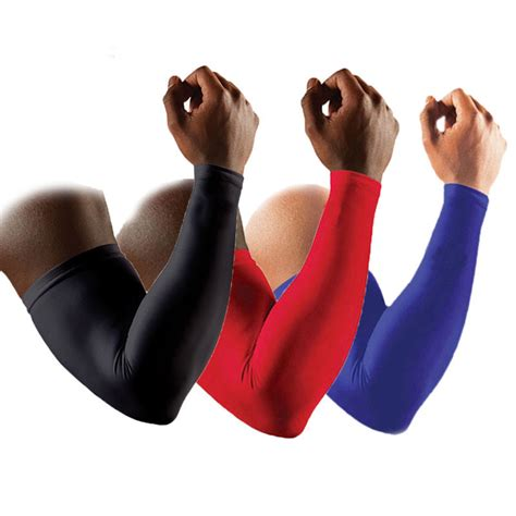 Arm Slevee Mcdavid No Pad aliexpress buy 1 pair high quality basketball brace support lengthen arm sleeves guard
