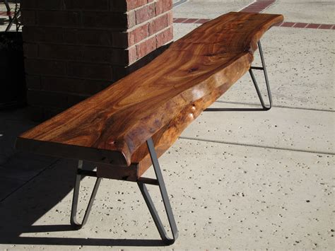 wood slab benches long dining table bench live edge solid wood slab