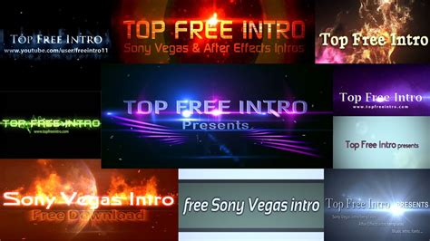 sony vegas pro 11 intro templates free sony vegas intro templates no plugins and free