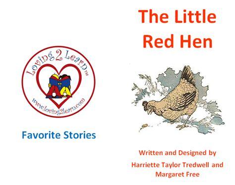 printable version of little red hen children s favorite stories the little red hen printable