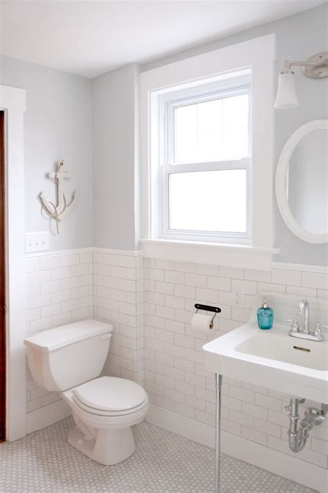 Bathroom Design Boston Boston Subway Tile Bathroom Designs Style With Bungalow Oval Wall Mirrors Towel Racks