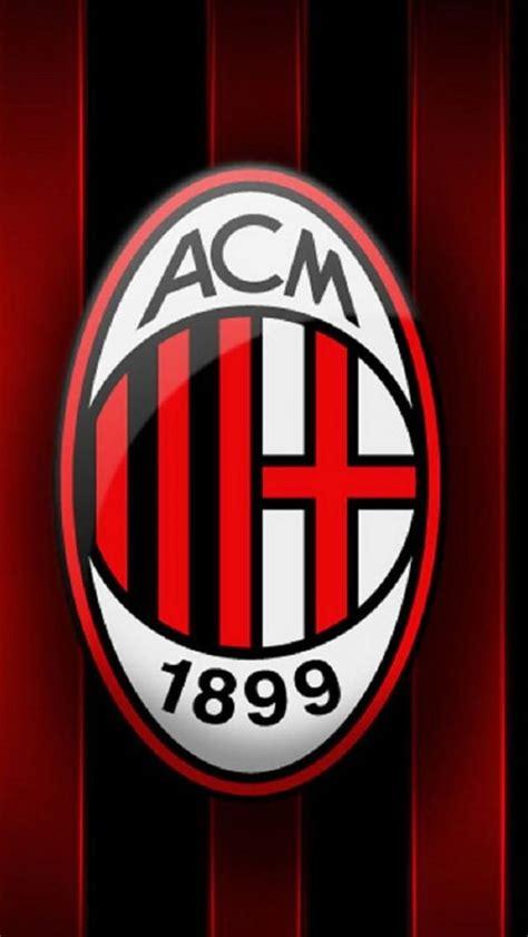 Kaos A C Milan Football Logo 4 Singlet Tanpa Lengan Tpl Acm15 Pria photo collection ac milan football logo