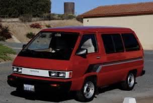 Toyota Vans For Sale Seller Pristine 1984 Toyota Survivor