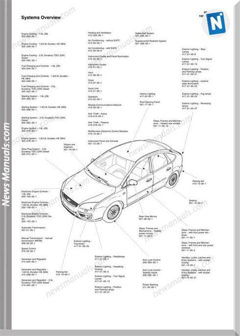 download car manuals pdf free 2010 ford focus user handbook ford focus 2010 c307 wiring diagrams