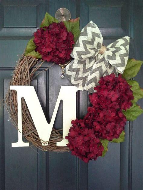 Diy Wreaths For Front Door Best 25 Door Wreaths Ideas On Letter Door