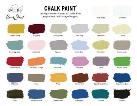 sloan color chart see the current sloan decorative chalk paint 174 colors