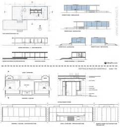 Farnsworth House Floor Plan Dimensions Farnsworth House Dwg Picture Image By Tag