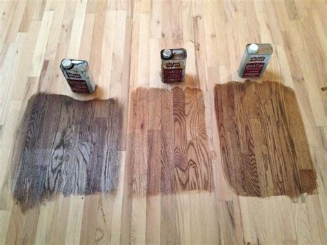 minwax stains  left   antique brown early