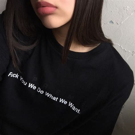 tattoo ali esmer we do what we want quote girls fashion tumblr t shirt