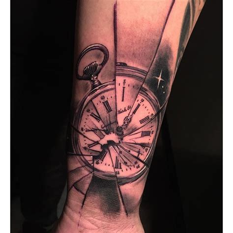broken pocket watch tattoo broken pocket with anchor pictures to pin on