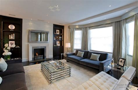 family room decorating photos гостиная с эркером интерьер и дизайн современных домов и