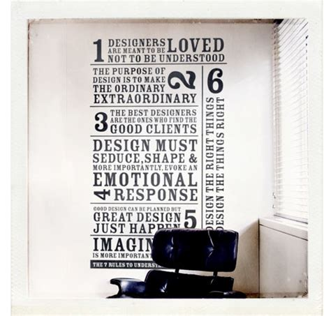 type layout rules design quote posters the gallery