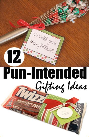punny christmas gifts ideas 12 easy gifts s ideas