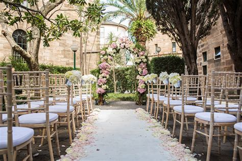 outdoor wedding ceremony setup sydney ceremony styling wedding reception styling events events
