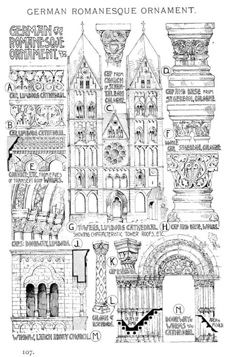 Victorian Design Style by Characteristics Of Romanesque Architecture Ii
