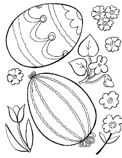 free coloring pages for easter free printable easter egg coloring pages for