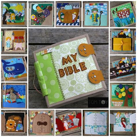 Handmade Busy Book - 17 best ideas about handmade fabric bags on