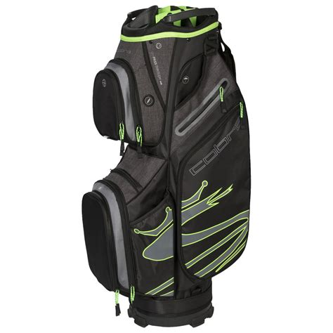Sac Light Green cobra ultralight cart bag black green 2019 achat sac