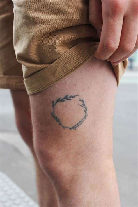 small tattoo on leg 301 moved permanently