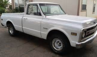 Chevrolet Chevy Mexico 1969 Chevrolet C10 Shortbed New Mexico Rust Free Truck For