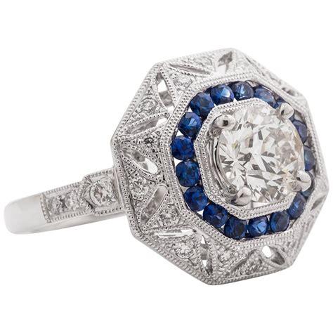 Handmade Rings For Sale - new custom handmade sapphire european platinum