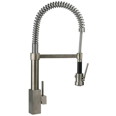 outdoor kitchen faucets latoscana dax single handle pull down sprayer kitchen