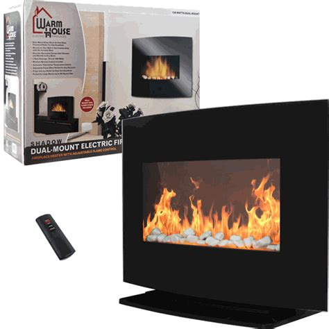 electric fireplace heater with remote