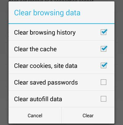how do i clear cookies on my android phone how to clear cookies cache and history in chrome for android autos post