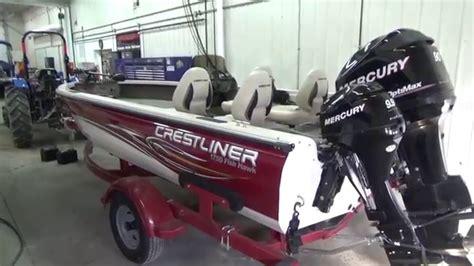 used aluminum fishing boats in ohio 2008 crestliner 1750 fish hawk used aluminum fishing boat