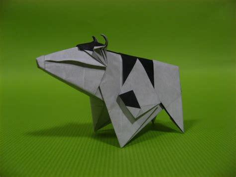 Origami Cow - 20 creative origami designs