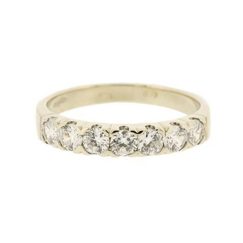 white gold anniversary ring