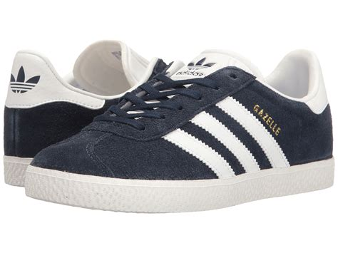 adidas originals gazelle big kid at zappos