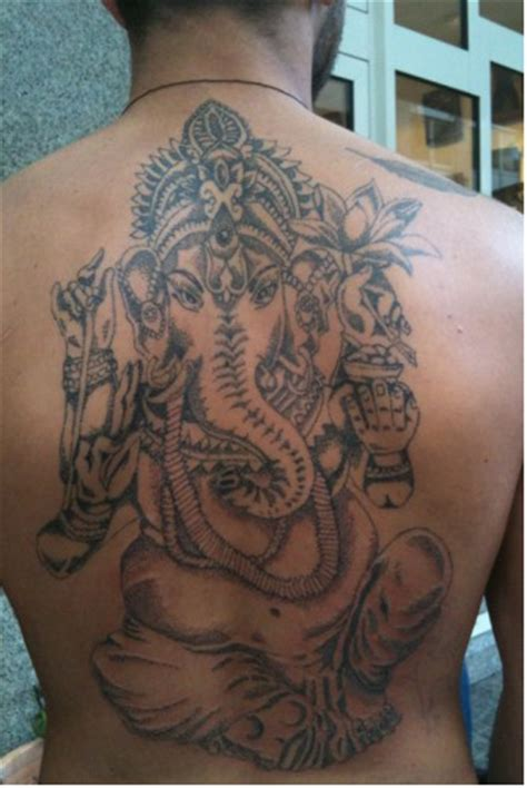 ganesha tattoo vorlage decapper dot work ganesha tattoos von tattoo bewertung de