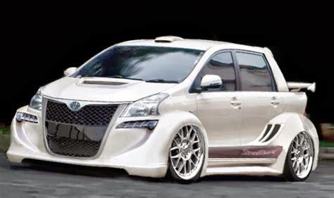 gambar mobil toyota agya foto modifikasi mobil toyota agya terbaik paling keren