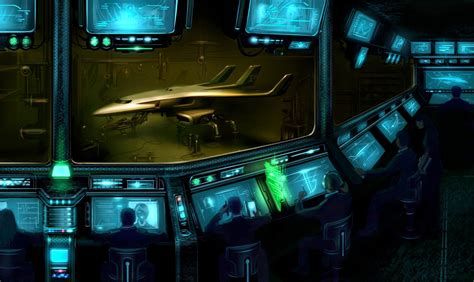 interior concept spaceship interior concept art
