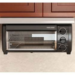 Black And Decker Under The Counter Toaster Oven Black Amp Decker Tros1500b Spacemaker Under The Cabinet