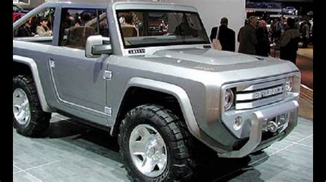 ford bronco luxury redesign  concept youtube