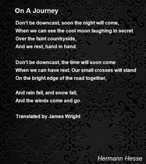 bright silver moon a journey story books on a journey poem by hermann hesse poem