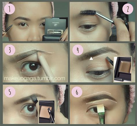 elf eye brow kit for black hair the makeup gaga sexy eyebrow routine such a small part
