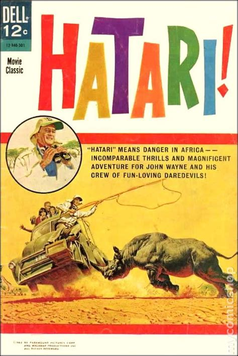 film with cartoon books hatari 1963 movie classics comic books