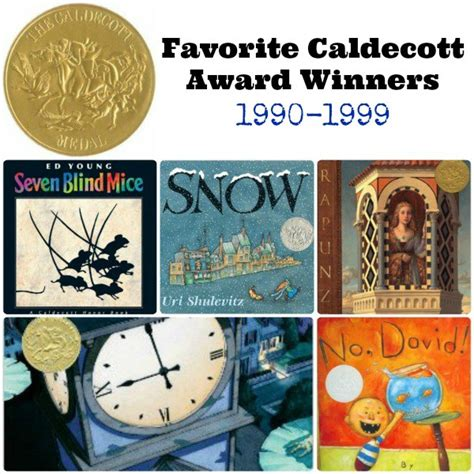 caldecott award picture books favorite caldecott award winners 1990 1999