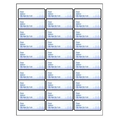 Template For Labels 30 Per Sheet by Template Avery 5366