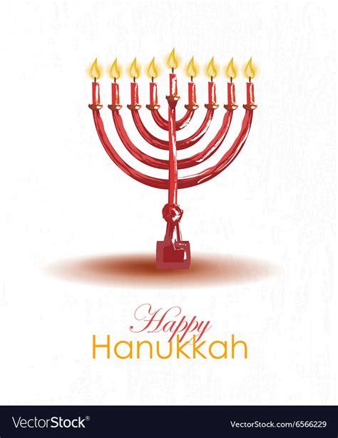 Hanukkah Gift Card Template by Hanukkah Card Template Vector By Svetlana