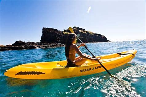 lanai pictures kayak at hulopoe lanai picture of lanai hawaii