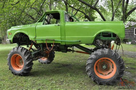 monster mud truck videos 1969 4 x 4 chevy monster racing mud truck