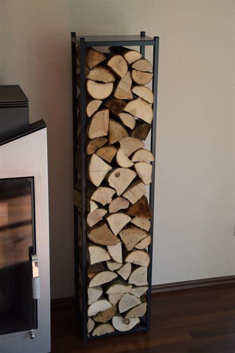 feuerholz gestell kaminholzregal innen stab 1500x250 aus metall